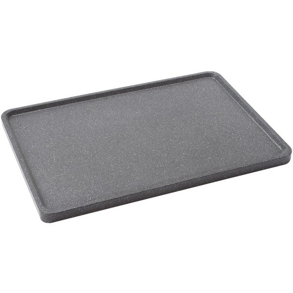 """Starfrit 060739-003-0000 The Rock(Tm) By Starfrit 17.75"""" Reversible Grill/Griddle Pan"""