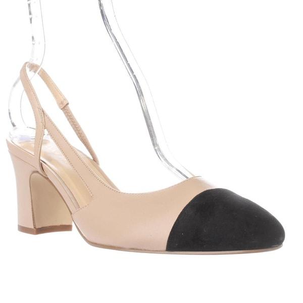 3b4807083c Shop Ivanka Trump Liah Slingback D'Orsay Heels, Natural Multi - Free  Shipping Today - Overstock - 17352757