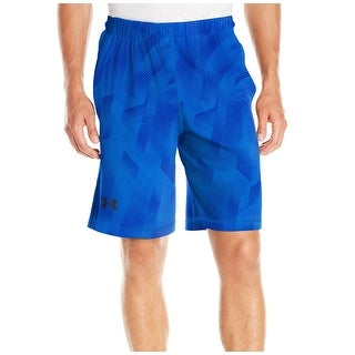Under Armour Blue Mens Small S Pull-On Drawstring Athletic Shorts