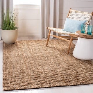Link to Martha Stewart Handmade Severiana Farmhouse Solid Jute Rug Similar Items in Farmhouse Rugs