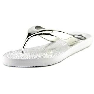 Fergalicious Majesty Open Toe Synthetic Flip Flop Sandal