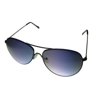 Kenneth Cole Reaction Mens Sunglass Gunmetal Aviator, Gradient Lens KC1222 8B - Medium