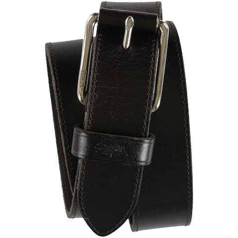 Ralph Lauren Mens Leather Roller Belt - 40