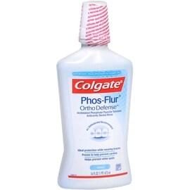 Colgate Phos-Flur Anti-Cavity Fluoride Rinse Cool Mint 16 oz