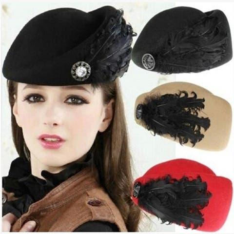 New Korean Wool Beret Hat