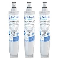 Replacement Water Filter For Whirlpool 491849 Refrigerator Water Filter - by Refresh (3 Pack)