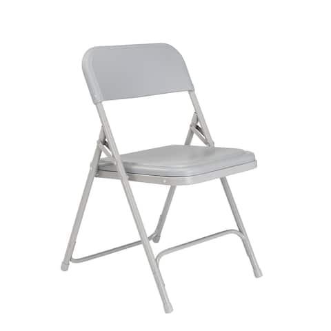 (4 Pack) NPS® 800 Series Premium Lightweight Plastic Folding Chair