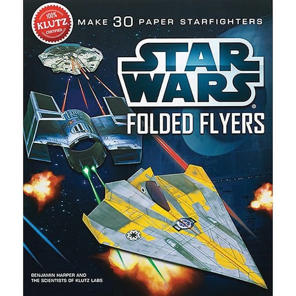 Shop Klutz Star Wars Paper Flyers Craft Kits - Build & Fly Star Wars