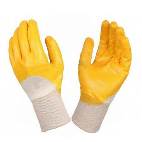 Work Universal Protection Cotton Nitrile Gloves