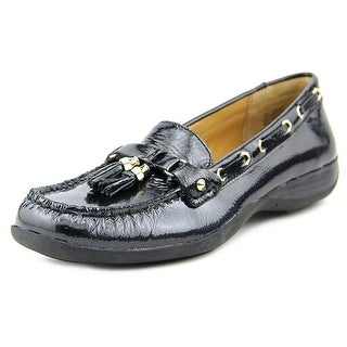 Array Cruise Women N/S Square Toe Patent Leather Black Loafer