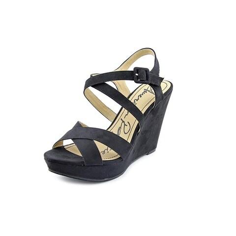 American Rag Womens RACHEY Peep Toe Casual Platform Sandals, Red, Size US Womens