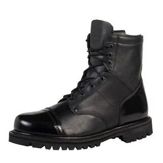 "Rocky Work Boots Mens 7"" Zip Jump Boot Goodyear Black FQ0002091"