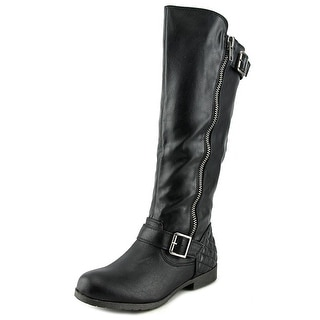 Material Girl Larisa Women Black Boots
