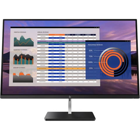"""HP S270n 4k 27"""" IPS Monitor,Black(Scratch and Dent)"""