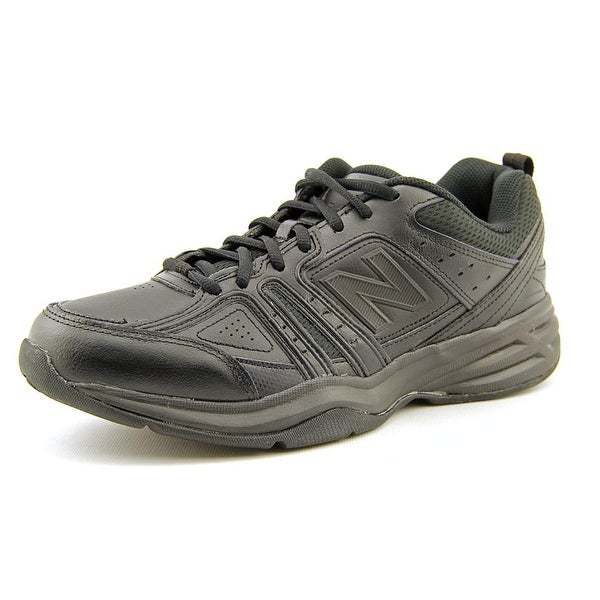 New Balance MX409 Men Round Toe Synthetic Black Sneakers