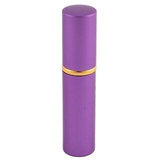 5mL Travel Portable Mini Refillable Scent Perfume Spray Bottle Atomizer Purple