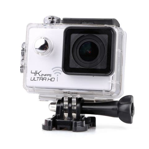 4K Extreme Definition Action Camera Waterproof DV 60fps White