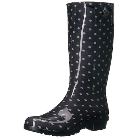 UGG Women's Shaye Polka Dots Rain Boot - 5