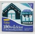 Celebrations V84B41A1 Snowflake Icicle Lights, 3' - Thumbnail 0