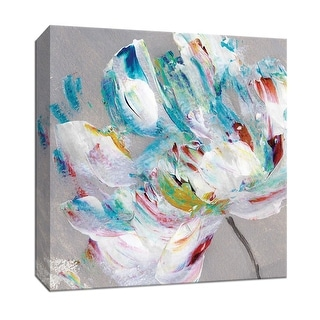 """PTM Images 9-147671  PTM Canvas Collection 12"""" x 12"""" - """"Flower Power"""" Giclee Flowers Art Print on Canvas"""