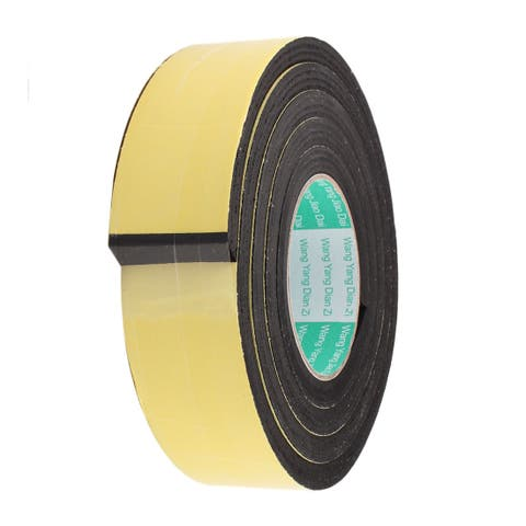 25mm Width 10mm Thickness EVA Single Side Sponge Foam Tape 2 Meters Length