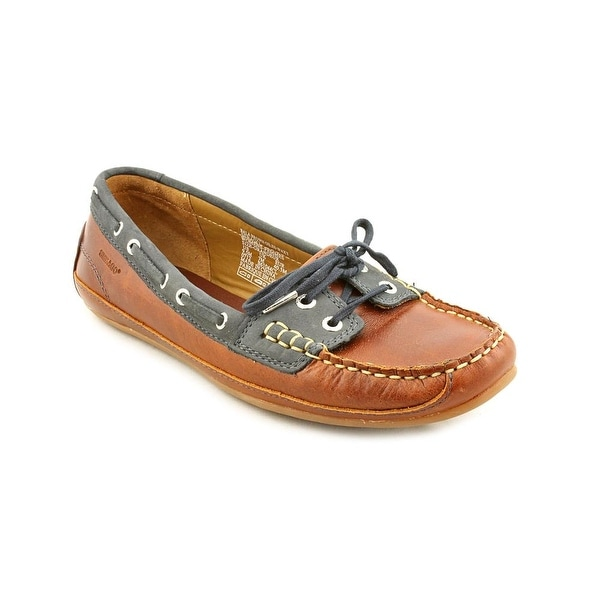 Sebago Bala Women Moc Toe Leather Brown Moccasins
