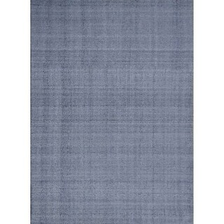 Moes Home Collection JH-1023 Habanero 5' x 8' Rectangle Polyester Area Rug - Steel