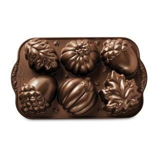 Link to Nordic Ware Autumn Treats Pan, Bronze Similar Items in Bakeware