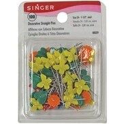 Size 24 100/Pkg - Decorative Straight Pins