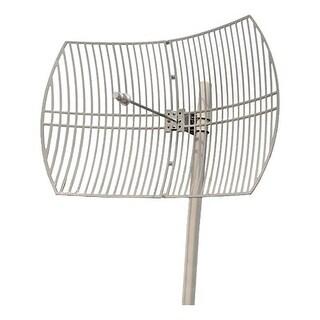 """Premiertek ANT-5158-30DBI Premiertek Antenna - Range - SHF - 5.10 GHz to 5.85 GHz - 30 dBi - Wireless Data NetworkParabolic -"