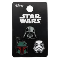 Star Wars Pin Pack: Darth Vader, Stormtrooper, Boba Fett
