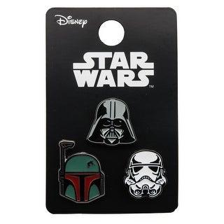 Star Wars Pin Pack: Darth Vader, Stormtrooper, Boba Fett - multi