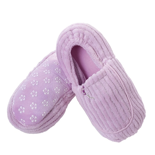 Women's Slippers Lavender Scented Heatable Aromatherapy - One size