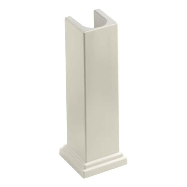 Kohler K-2767 Tresham Fireclay Pedestal Only for the K-2757 and K-2758 Bathroom Sinks