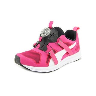 Puma Future Disc HST Mesh Men Round Toe Synthetic Pink Running Shoe