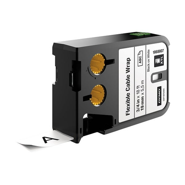 "Dymo - 3/4"" (19 Mm) Flexible Cable Wrap,"