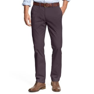 Tommy Hilfiger Mens Chino Pants Solid Custom Fit