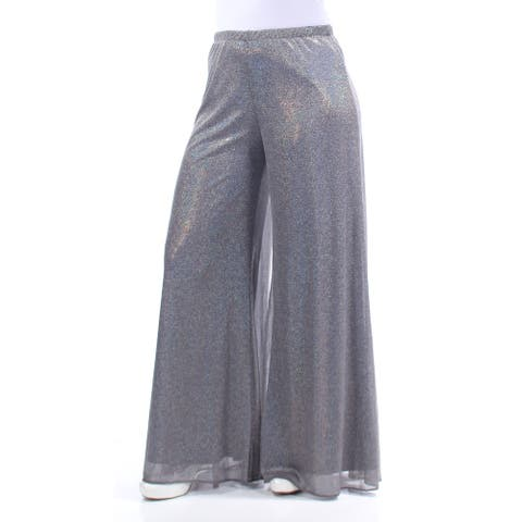 MSK Womens Silver Party Pants Size S