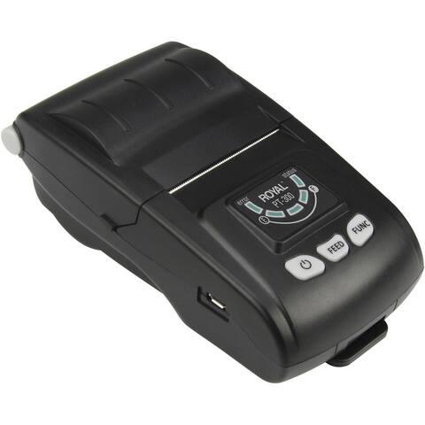 Royal PT-300 Wireless Handheld Wi-Fi-enabled Remote Thermal Printer - Black