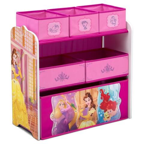 Disney Princess 6 Bin Design and Store Toy Organizer by Delta Children