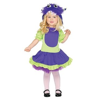 Cuddle Monster Toddler Costume - Green