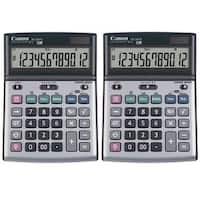 Canon BS‑1200TS 12-Digit Desktop Calculator (2-Pack)