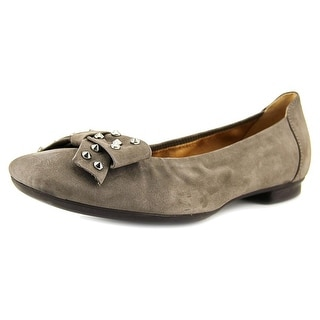 Gabor 34.117   Square Toe Suede  Flats