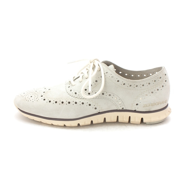 Cole Haan Womens Hannahsam Low Top Lace Up Fashion Sneakers - 6