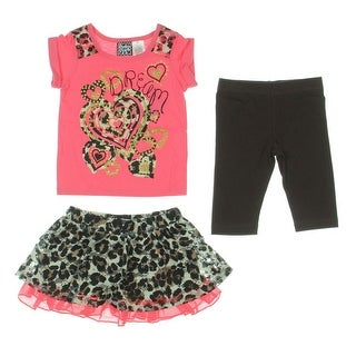 Pogo Club Skirt Outfit 3PC Toddler - 2T