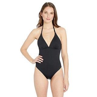 Link to La Blanca Women's Island Goddess Strappy Back One Piece Swimsuit, Black, 4 Similar Items in Swimwear
