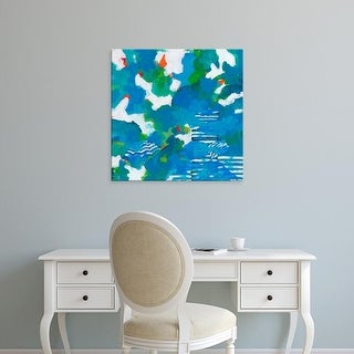 Easy Art Prints Jan Weiss's 'Adriatic' Premium Canvas Art