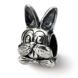 Sterling Silver Reflections Easter Bunny Bead (4mm Diameter Hole)
