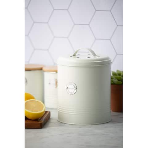 Living Cream Compost Caddy