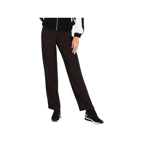 MICHAEL Michael Kors Womens Track Pants Striped Drawstring